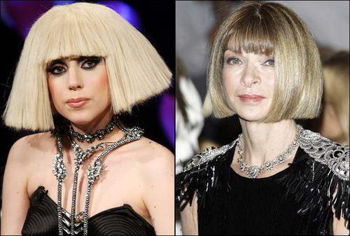 Анна Винтур: Lady GaGa - незрелый ребенок