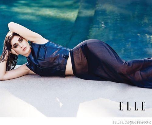 Лиззи Каплан в журнале Elle. Канада. Ноябрь 2014