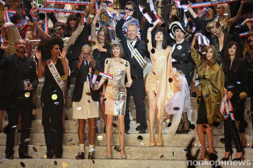 Модный показ новой коллекции Jean Paul Gaultier. Весна / лето 2015