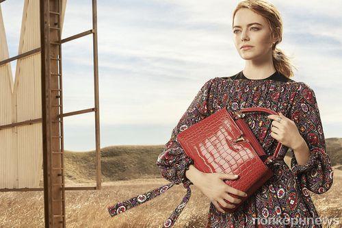 Фото: Эмма Стоун в новой рекламной кампании Louis Vuitton