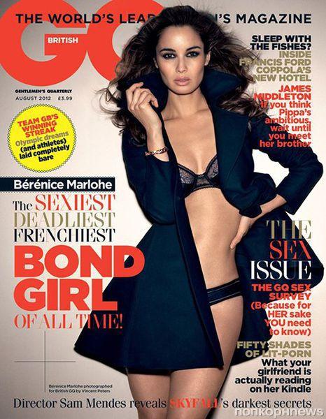 Беренис Марло в журнале GQ. Август 2012