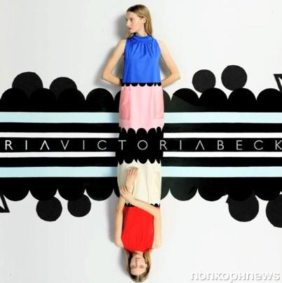 Превью новой линии одежды от Виктории Бэкхем