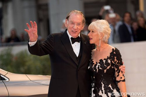 Хелен Миррен, Сьюзан Сарандон и Дональд Сазерленд на красной дорожке Венецианского кинофестиваля