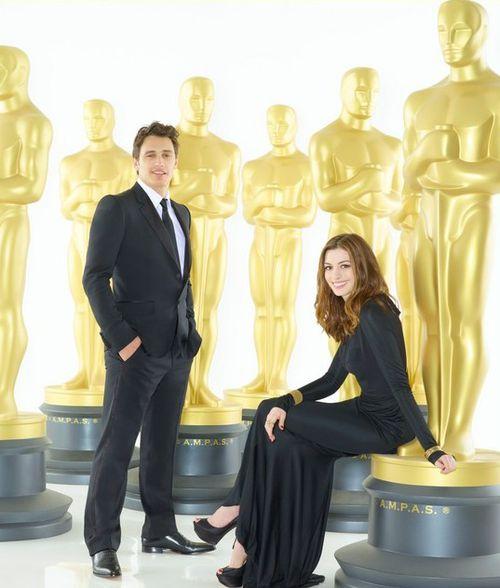 """Энн Хэтэуэй и Джеймс Франко рассказали о том, каково быть ведущими """"Оскара"""""""