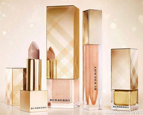 Праздничная коллекция декоративной косметики Burberry Golden Light 2013
