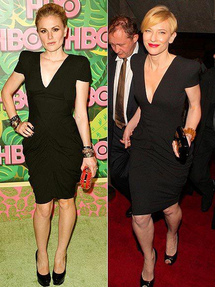 Fashion Battle: Анна Пакуин и Кейт Бланшетт