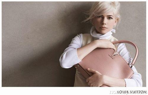 Мишель Уильямс в рекламной кампании Louis Vuitton. Осень / зима 2014