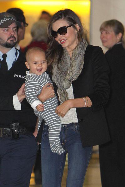 Миранда Керр с сыном в Сиднее