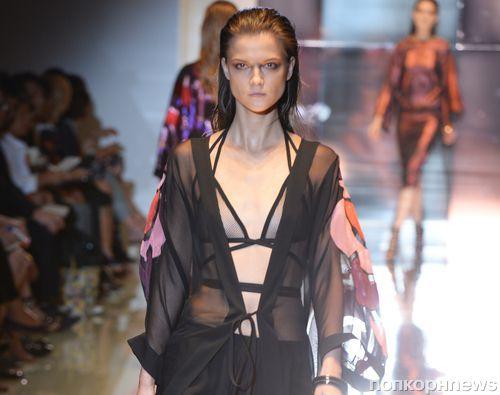 Модный показ новой коллекции Gucci. Весна / лето 2014