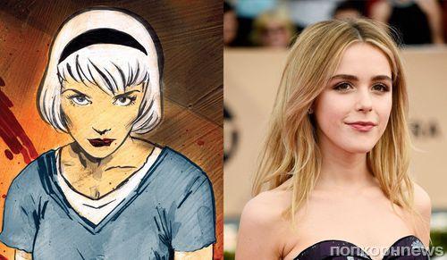 Звезда «Безумцев» Кирнан Шипка сыграет Сабрину - ведьму-подростка в сериале Netflix