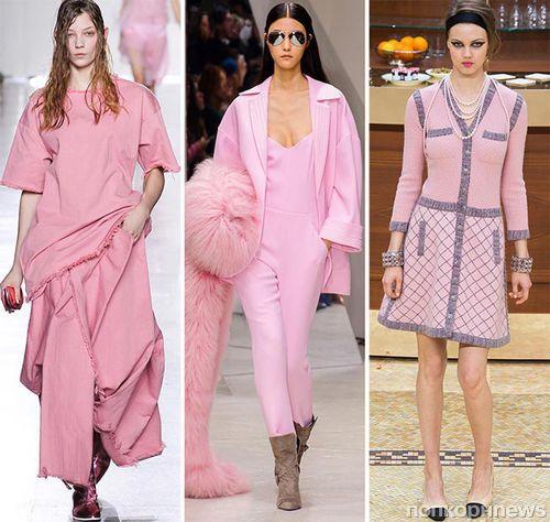 Модные луки и образы осень-зима 2015-2016
