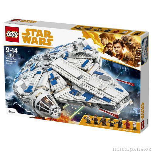 Новые наборы LEGO Star Wars, посвященные истории Хана Соло