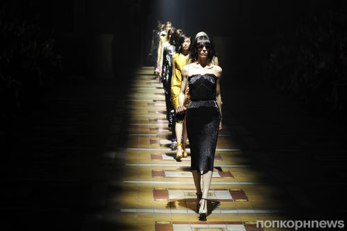 Модный показ новой коллекции Lanvin. Весна / лето 2014
