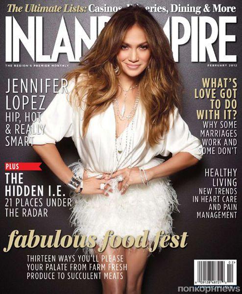 Дженнифер Лопес в журнале Inland Empire. Февраль 2012