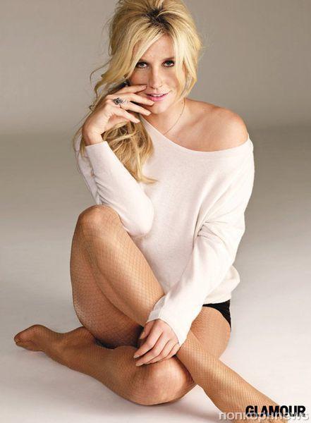 Ke$ha в журнале Glamour. Март 2012