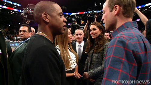 Принц Уильям и Кейт Миддлтон встретились с Бейонсе и Jay Z