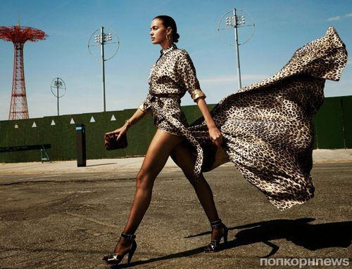 Хищница Ирина Шейк в журнале Vogue. Испания. Сентябрь 2014