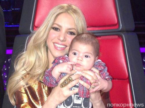 Шакира покидает шоу «Голос»: мой бедный малыш устал летать