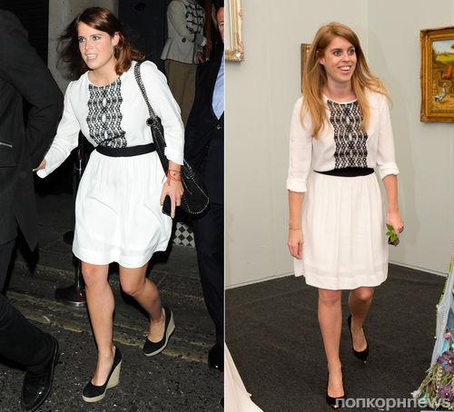 Fashion Battle: принцесса Евгения и принцесса Беатрис