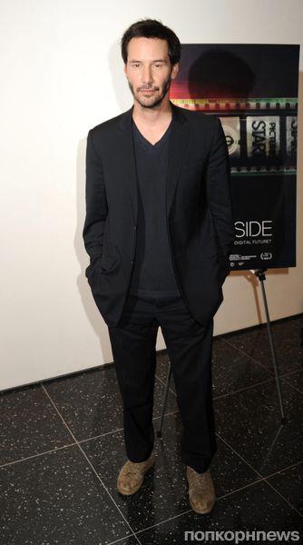 """Киану Ривз на показе фильма """"Бок о бок"""" в Нью-Йорке"""