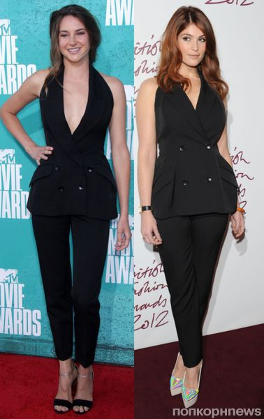 Fashion battle: Шейлин Вудли и Джемма Артертон