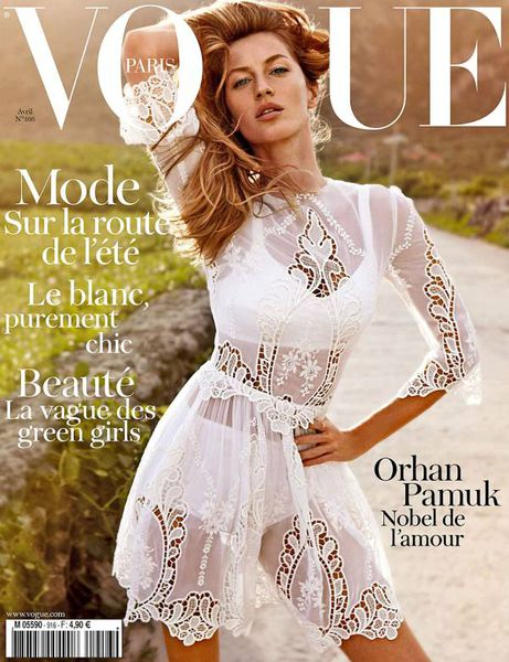 Жизель Бундхен в журнале Vogue Paris. Апрель 2011
