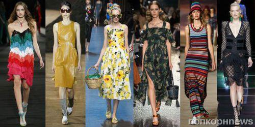 11328d3c9f3 Модные платья лето 2016 на каждый день  фото тенденций