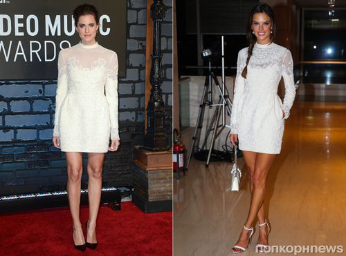 Fashion battle: Эллисон Уильямс и Алессандра Амбросио