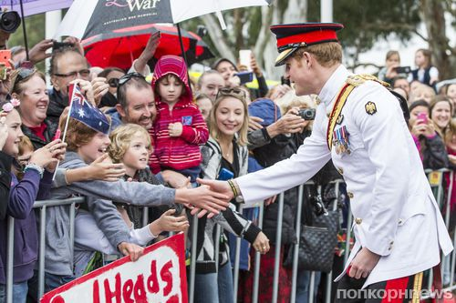 Принц Гарри прибыл в Австралию с официальным визитом