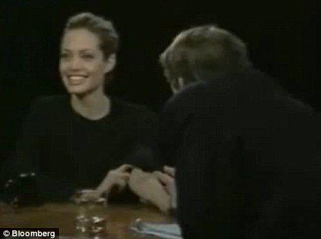 Анджелина Джоли на интервью была под кокаином?