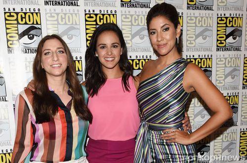Фото: звездный каст сериала «Бруклин 9-9» на Comic-Con в Сан-Диего