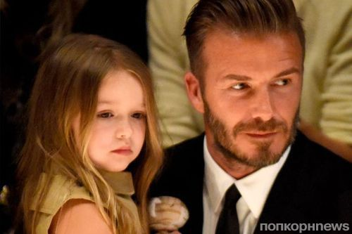 Семью Бекхэмов раскритиковали за празднование дня рождения дочери в Букингемском дворце