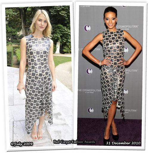 Fashion Battle: Клэр Дэйнс и Селита Ибэнкс