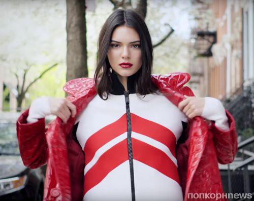 Кендалл Дженнер в рекламной кампании  Estée Lauder: новые кадры
