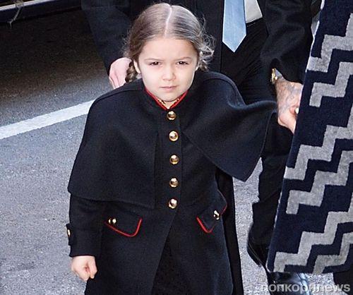 Харпер Бекхэм стала самым влиятельным ребенком Великобритании
