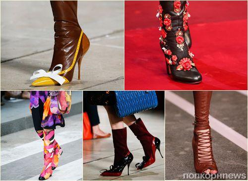 Модные сапоги весна-2015: фото самых стильных моделей