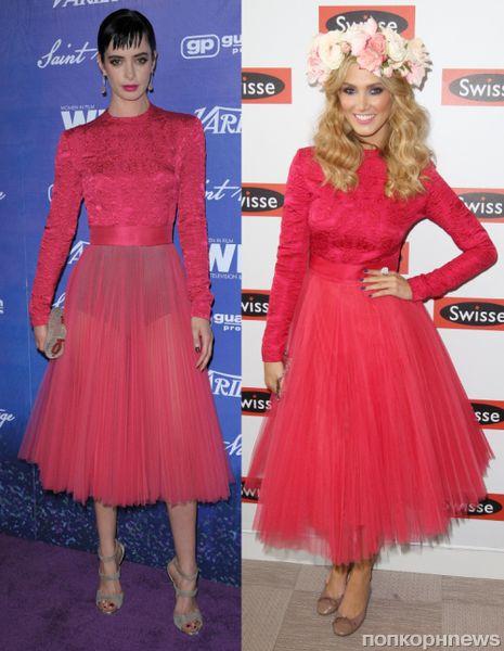 Fashion battle: Кристен Риттер и Дельта Гудрем