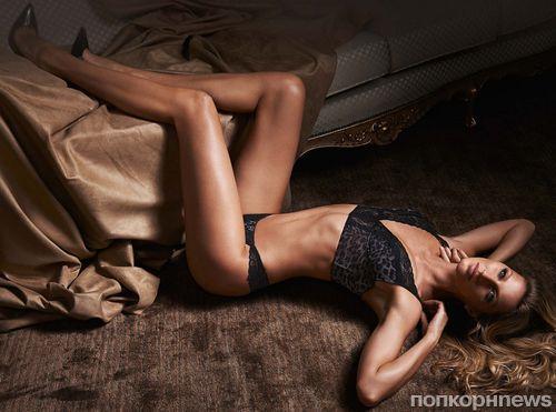 Жизель бундхен в рекламе своей марки нижнего белья Gisele Intimates