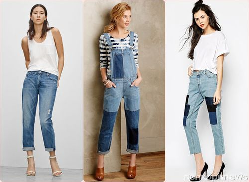 Модные джинсы весна-лето 2015: фото самых стильных моделей и фасонов