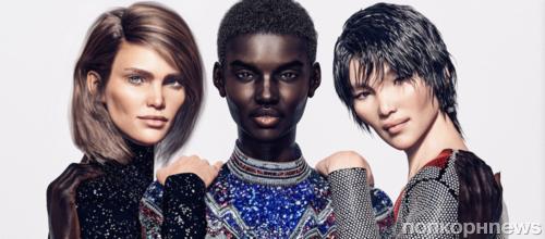 Вместо Кендалл Дженнер и Джиджи Хадид Balmain будут рекламировать цифровые модели