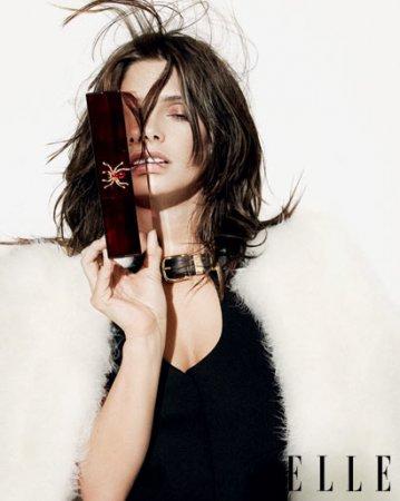 Эшли Грин в журнале Elle. Август 2010