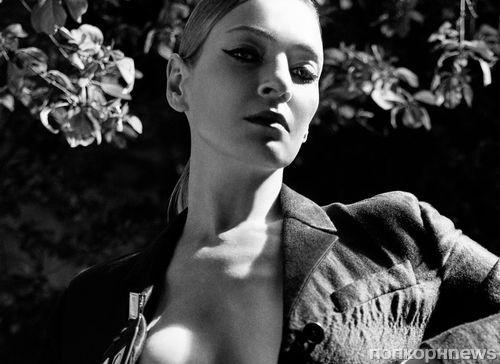 Ума Турман снялась в смелой фотосессии для LOVE Magazine