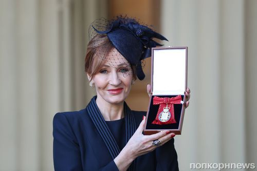 Принц Уильямс наградил создательницу «Гарри Поттера» Орденом Кавалеров чести