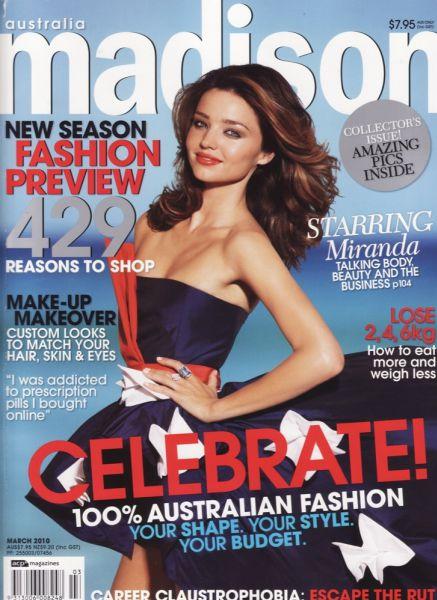 Миранда Керр в журнале Madison Australia. Март 2010