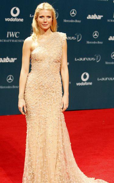 Гвинет Пэлтроу на церемонии Laureus World Sports Awards