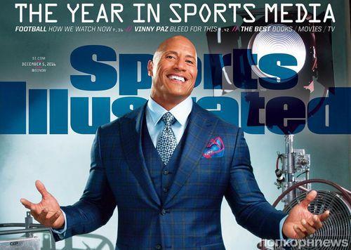 Дуэйн Джонсон украсил обложку Sports Illustrated