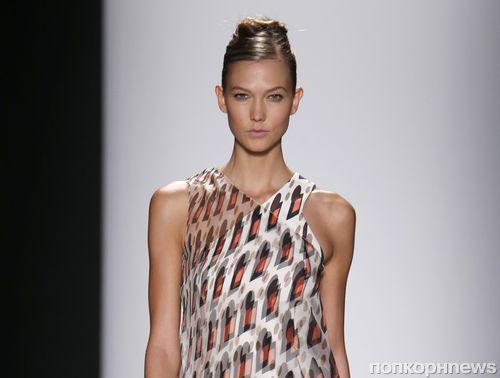 Модный показ новой коллекции Carolina Herrera. Весна / лето 2014