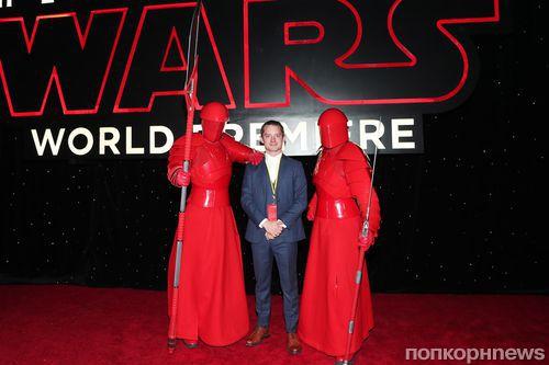 Звезды на красной дорожке мировой премьеры «Звездных войн: Последние джедаи»