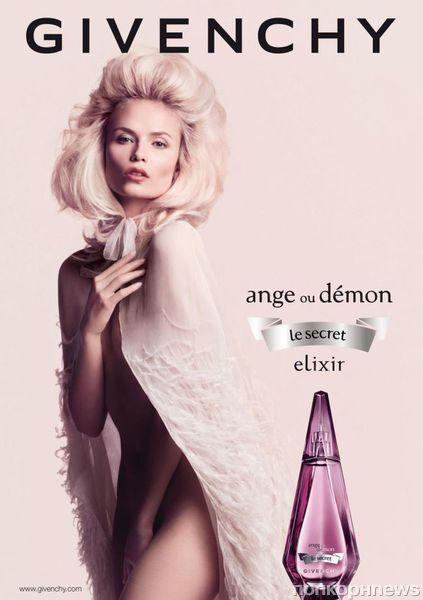 Наташа Поли для рекламы аромата Givenchy «Angel Ou Demon Le Secret»