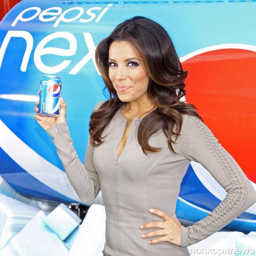 Ева Лонгория на презентации Pepsi Next